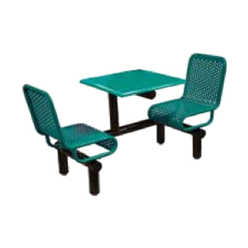 2-Seat Green Perforated Metal All-Weather Top