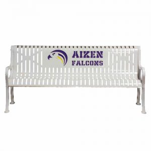 Aizen Falcons White Metal Bench